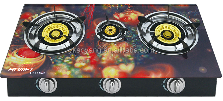 7mm Tempered Glass Gas Stove Cooktop