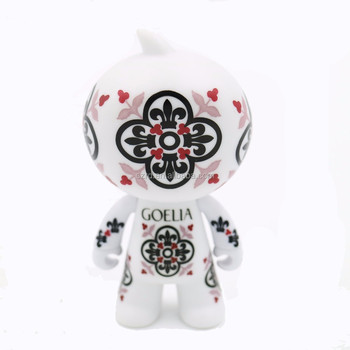 China OEM Factory DIY Cute Doll Figure Vinyl Toy Custom