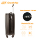 20'' ABS Smart Luggage cabin suitcase with self weighing scale,tracker,hard case luggage with USB charger