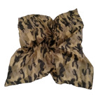 cheap light voile scarf with camouflage printing