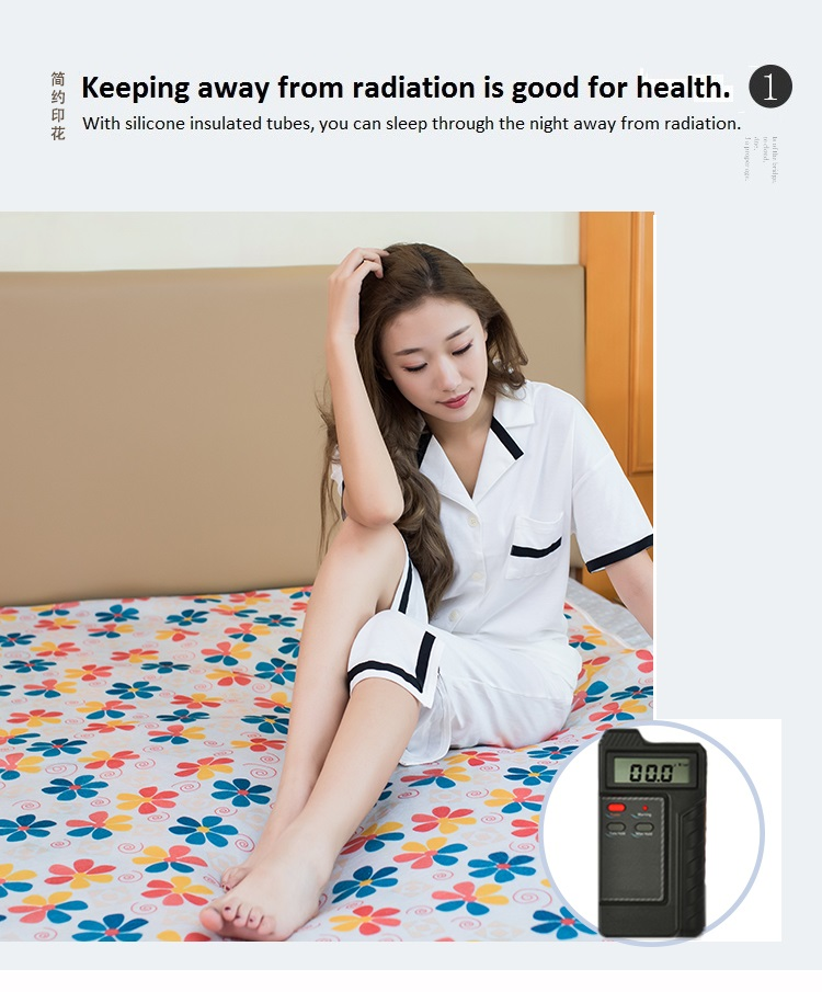 Water circulation electric blanket 220v-240v household energy-saving safety mute controllable temperature overheat protection bl