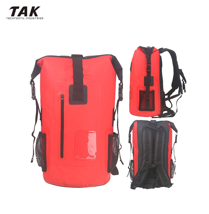 Custom Logo 15L 20L 25L 40L 50L 60L 80L Waterproof Dry Bag Backpack for Fishing Hiking Floating