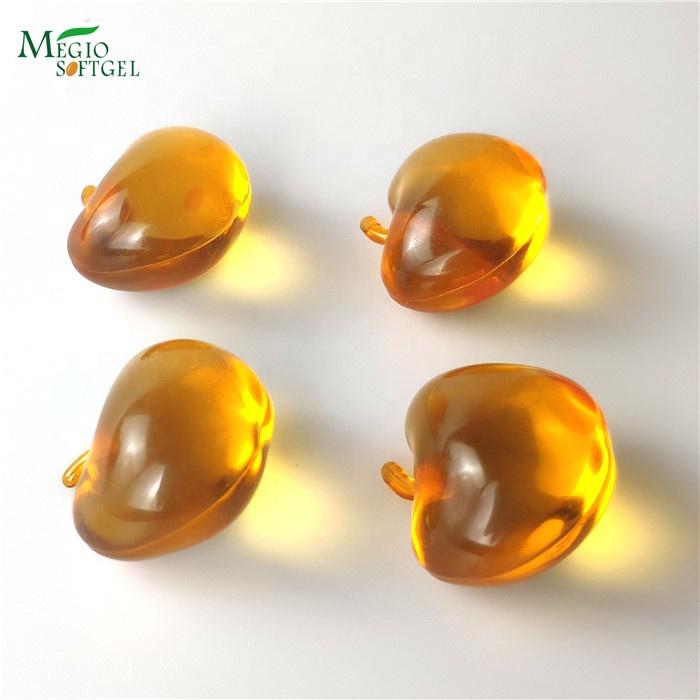 Sweet apple shape Scent jacuzzi bathtub Moisture replenishing bath oil pearls