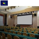 "XYSCREENS 300"" inch large smart intelligent electric motorized projector projection screen with remote control for great hall"