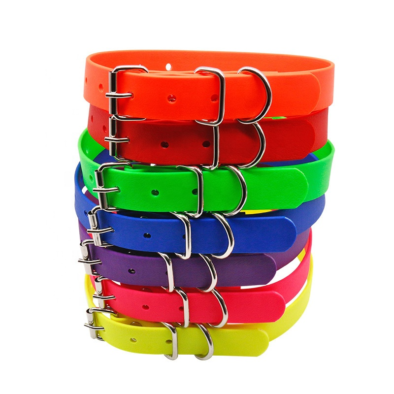 Durable Dog Collar Patch Pvc Waterproof Rubber Dog Collar