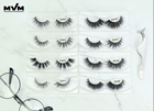 MVM SD-01 Wholesale 100% Faux Mink Eyelash False Lashes Vendor With Private Label