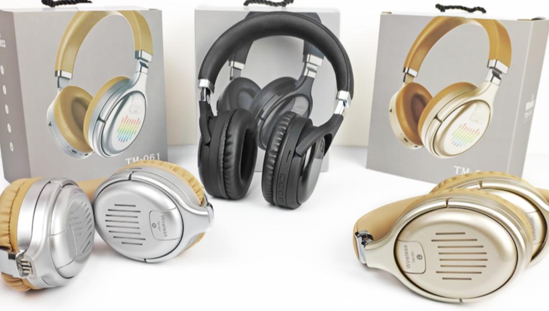 TWS Kopfhörer Gaming headset Drahtlose Blue tooth Faltbare Musik und Mikrofon TM061 Drahtlose Kopfhörer