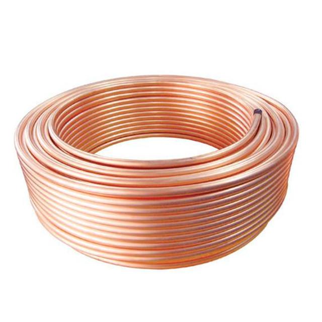Tuyau de bobine de cuivre