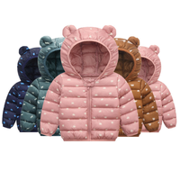 Lightweight 2019 Little Kids Winter Clothes Boys And Girls Hooded Coats