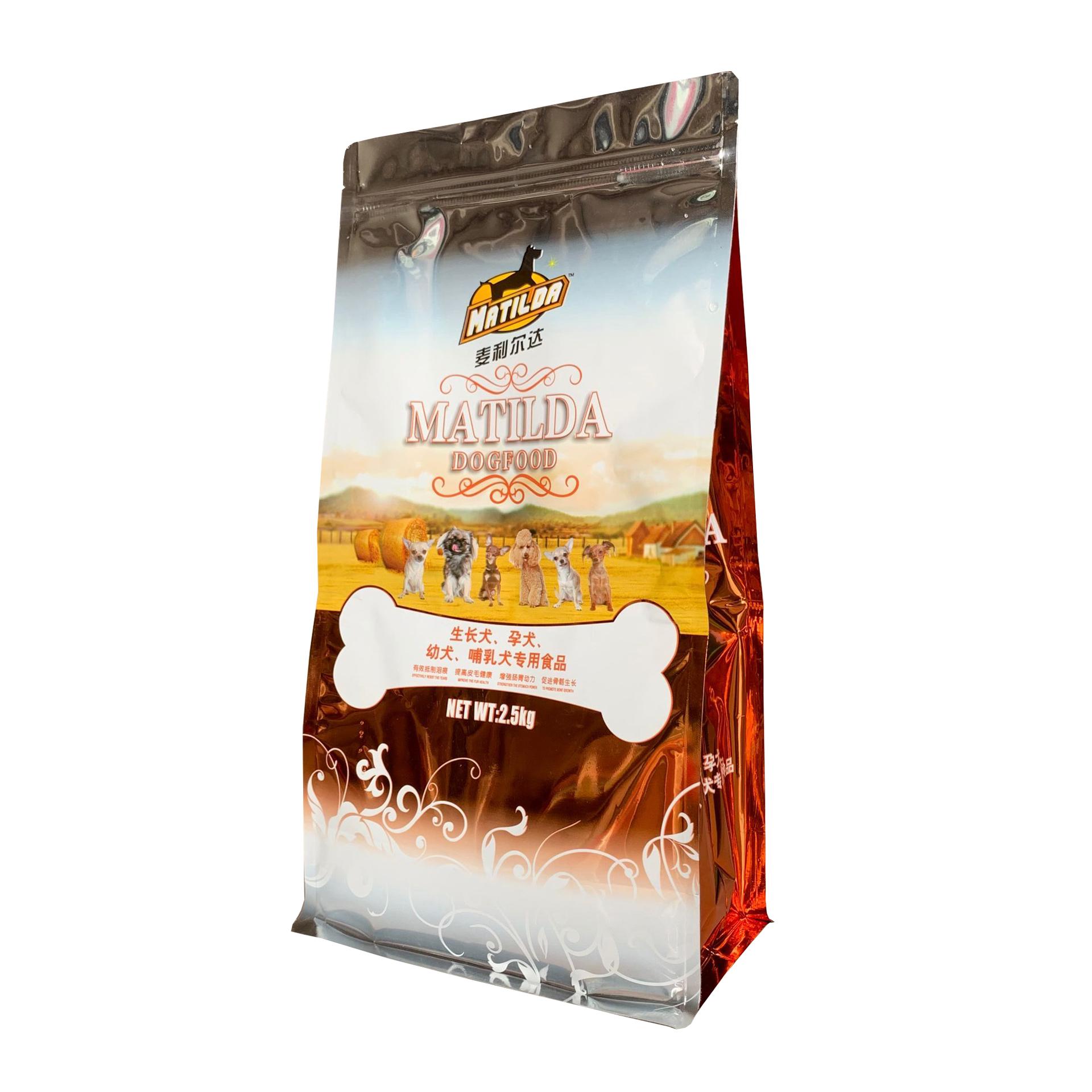 Heißer Verkauf Laminiert Individuelles Logo Zip-Lock Flachen Boden Schokolade Kunststoff Verpackung Jujube Deta Nüsse Lebensmittel Taschen Kaffee Tee Paket