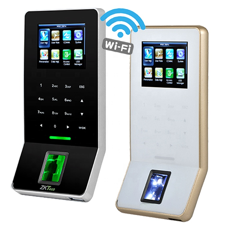 ZK F22 WIFI Biometric ลายนิ้วมือระบบ Access Control, 125khz Card Reader TIP/IP Access Controller
