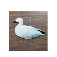 PP Wellblech BoardsWhite Goose Decoy Vögel