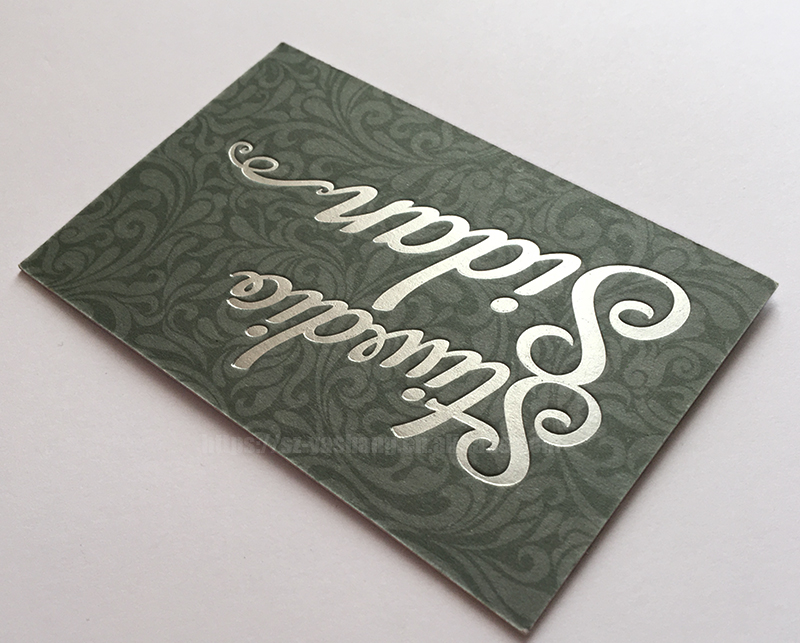 Sliver embossed marriage greeting cards sets business card customized printing best wedding cards