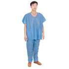 Nurse New Designs Nurse Uniform Non Woven Disposable Surgical Medical Scrubs Suit