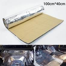 5 мм автомобильный Грузовик звукоизолированный Deadening мат брандмауэр изоляция Аудио шум изолятор тепло звук Теплоизоляция Pad аксессуары(Китай)