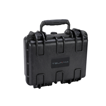 Tsunami 272012 factory customized small pp transparent plastic case flight case