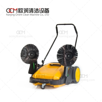 MS92  mechanical sweeper of street outdoor road sweeper dust collector road sweeper