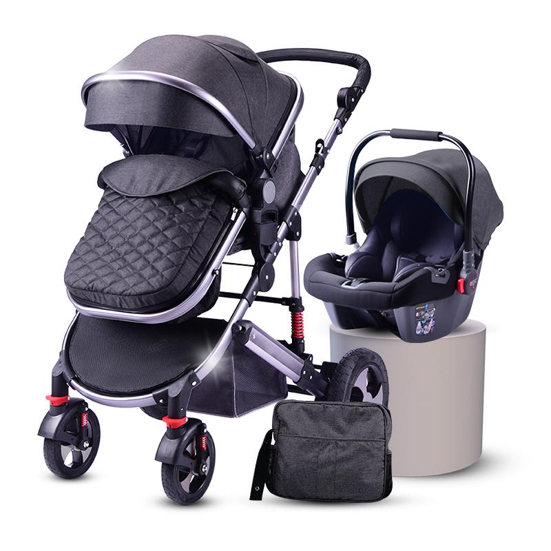 Cochecito Infantil de Lujo para niños de 0 a 3 años