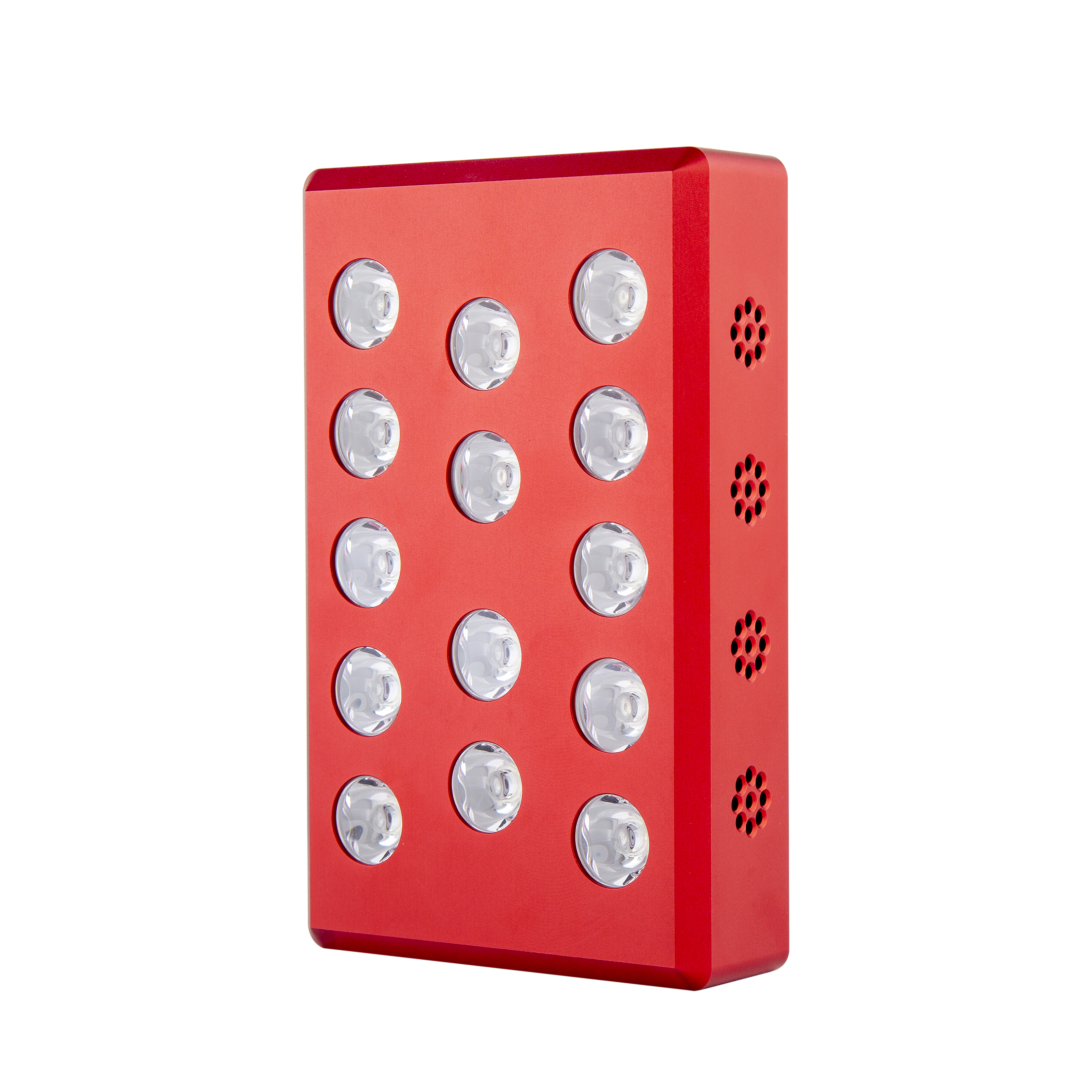 SAIDI Amazon hot sale rechargeable ultra thin 660nm 850nm aluminum in hand mini red light led therapy for travel