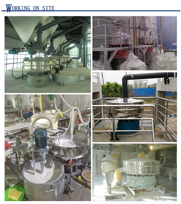 Food grade coffee bean sieve machine cocoa beans vibrating screen