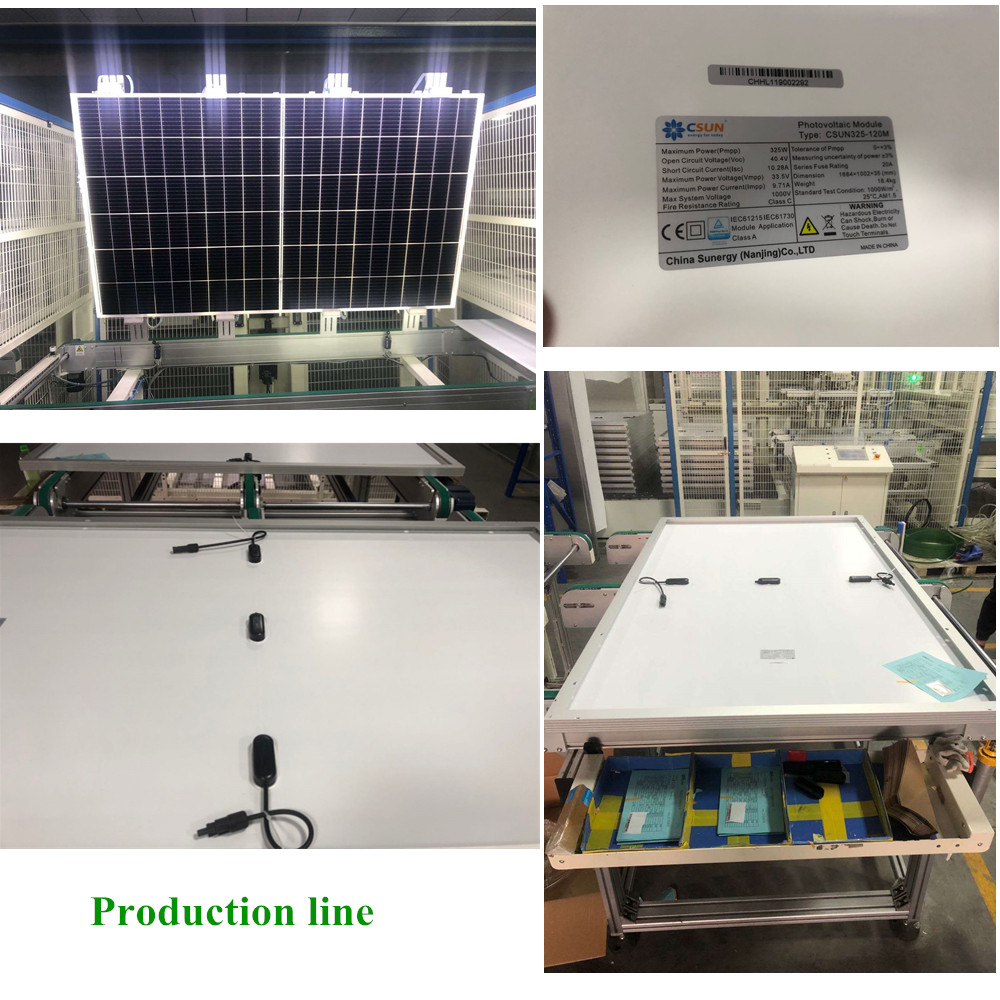 Tier 1 Jinko quality 25 years warranty mono half cell module 400W solar panel