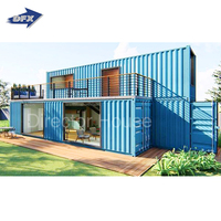 Luxury prefab house modular shipping container homes 40 feet 20 feet