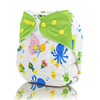 Washable baby diaper pants Reusable sleepy Baby cloth diapers Washable waterproof ecologic Nappies with hemp cotton inserts