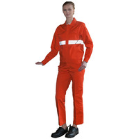 Wholesale manufacturers Orange reflective strip safety work clothes