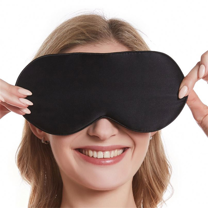 Personalized Custom 100% Mulberry Silk Eye Mask Sleep