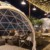 Steel Frame Igloo Dome Tent For Garden and Cafe House