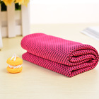 Logo customized Breathable Ice Towel Microfiber Quick Dry Cooling Sport Face Towel