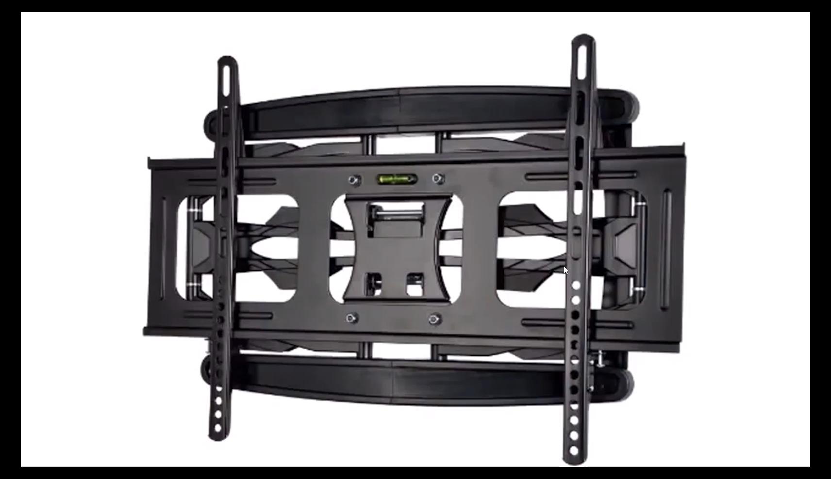 टीवी दीवार माउंट दोहरी Articulating हथियार पूर्ण गति कुंडा विस्तार झुकाव टीवी 32-70 इंच के लिए
