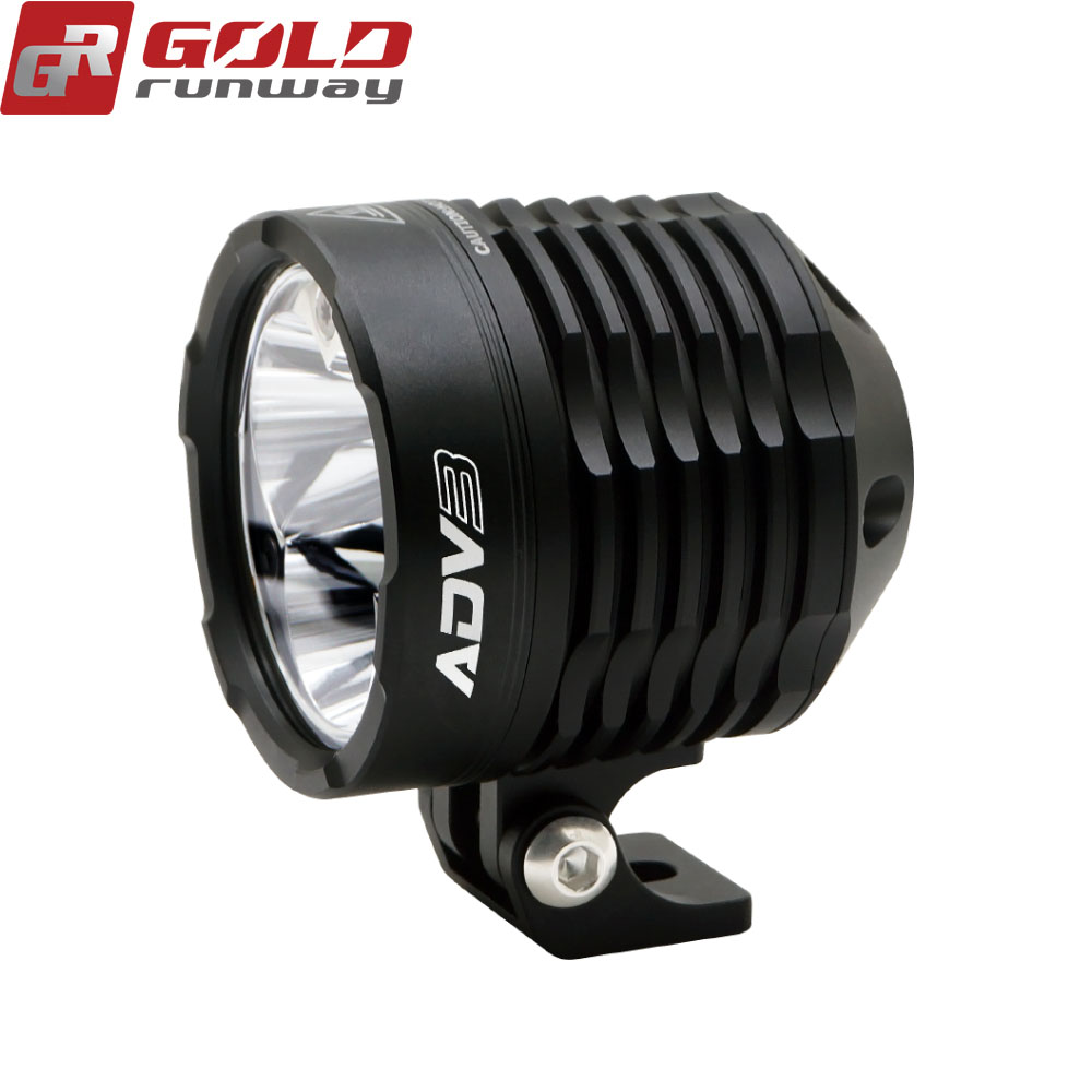 3inch 30w led motorcycle fog light kit working driving lamp