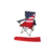 Easy-carrying multi-color cheap outdoor folding camping beach mental chair with armrest cup holder