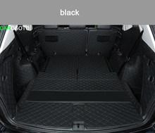 Кожаный коврик для багажника автомобиля грузовой лайнер для volkswagen Atlas 2017 2018 2019 2020 Teramont аксессуары Чехлы для стайлинга интерьера(Китай)