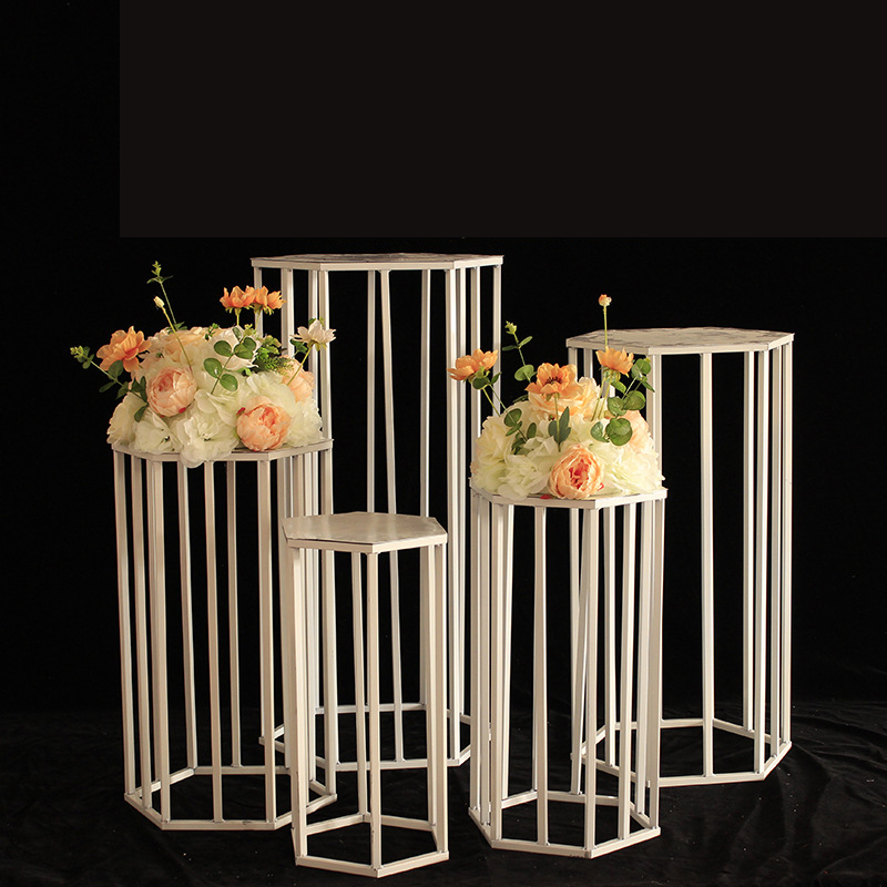 LCK270 fashion white decorative wedding cake stand set for birthday party