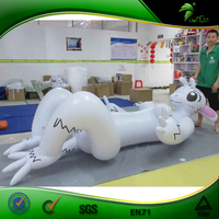 Incredible Design Lovely Inflatable Bunny Girl With Big Boobs Inflatable Sexy Animal With SPH