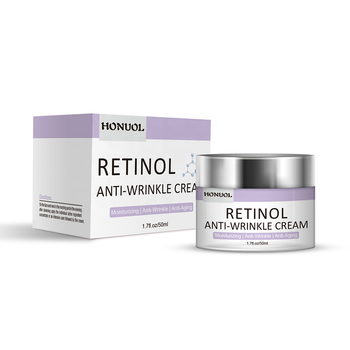Private Label Organic Retinol 2.5% Vitamin A Moisturizer Anti Aging Face Cream
