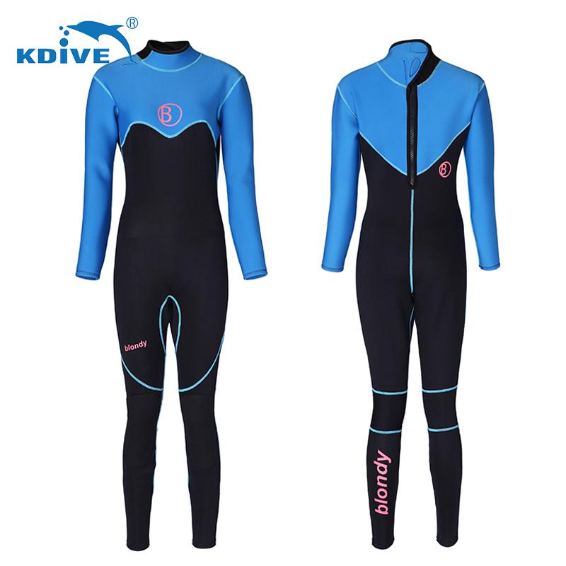 Custom logo cheap neoprene swimming diving women long sleeve wetsuit