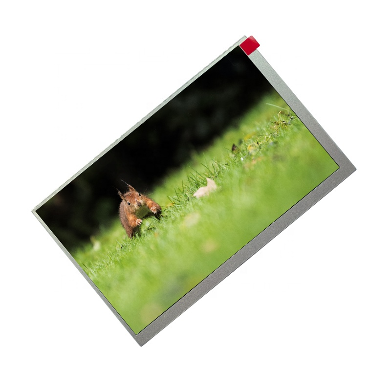 TCC Digitale 800 * RGB * 480 hoge contrast touch screen (AT070TN83) panel 40 pin display een-Si 7 inch tft lcd module