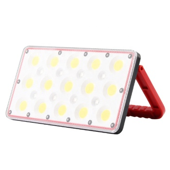 New COB rechargeable led work light glare portable camping light mobile power picnic tent light