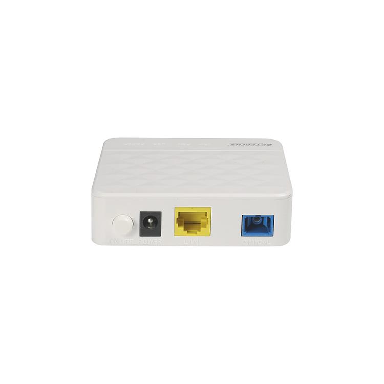 รุ่น DUAL XPON 1GE 1FE สะพานและ Router ZTE Huawei GPON ONT โมเด็มเข้ากันได้กับ FiberHome