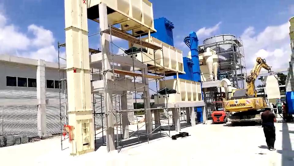 Kaliteli kireç fırın kireç ocağı kalsine hızlı kireç üretim tesisi