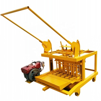 JC4-45 Simple mobile cement block making machine