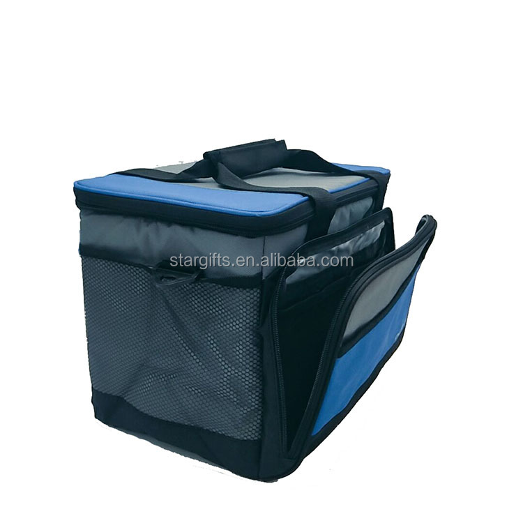 Outdoor Travel Hiking Beach Picnic BBQ Party 12 can insulated thermal lunch box soft cooler bag for unisex