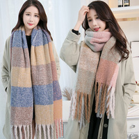 Winter Warm Hot selling wholesale Acrylic Pashmina scarf Women Shawl Wrap