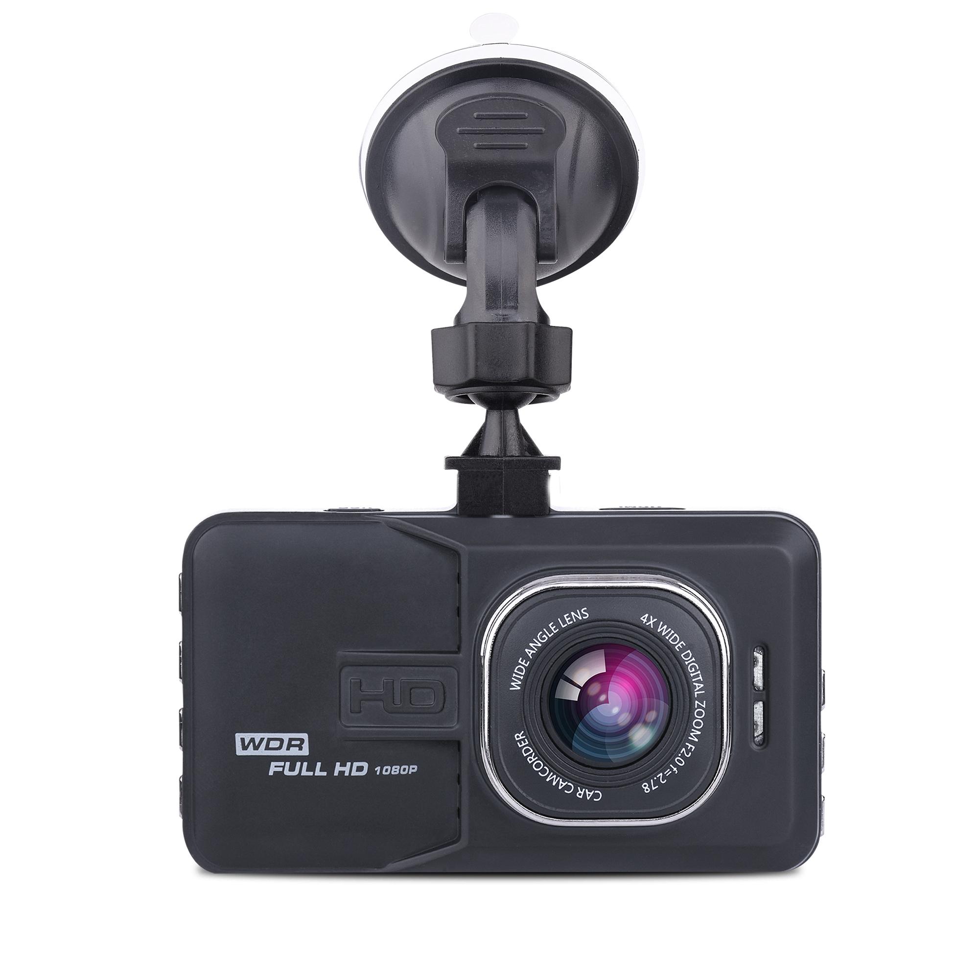 3.0inch screen 1080P FHD 140 degree wide FOV Loop recording Parking recording DVR car camera