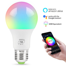 E27 7W Energiebesparende Led Wifi Smart <span class=keywords><strong>Verlichting</strong></span> Compatibel Met Alexa En Google Assistent