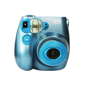 Low  price instant camera multifunctional fujifilm instax mini 7s camera metallic blue