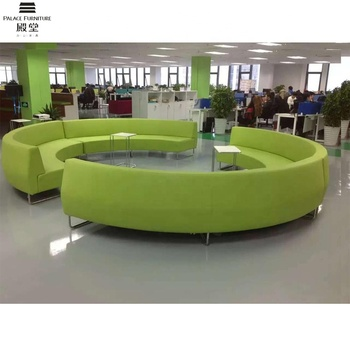New Model Fabric Furniture Used Sectional Sofa Green Color Curved Sofa View Sectional Sofa Green Color Palace Product Details From Foshan Shunde
